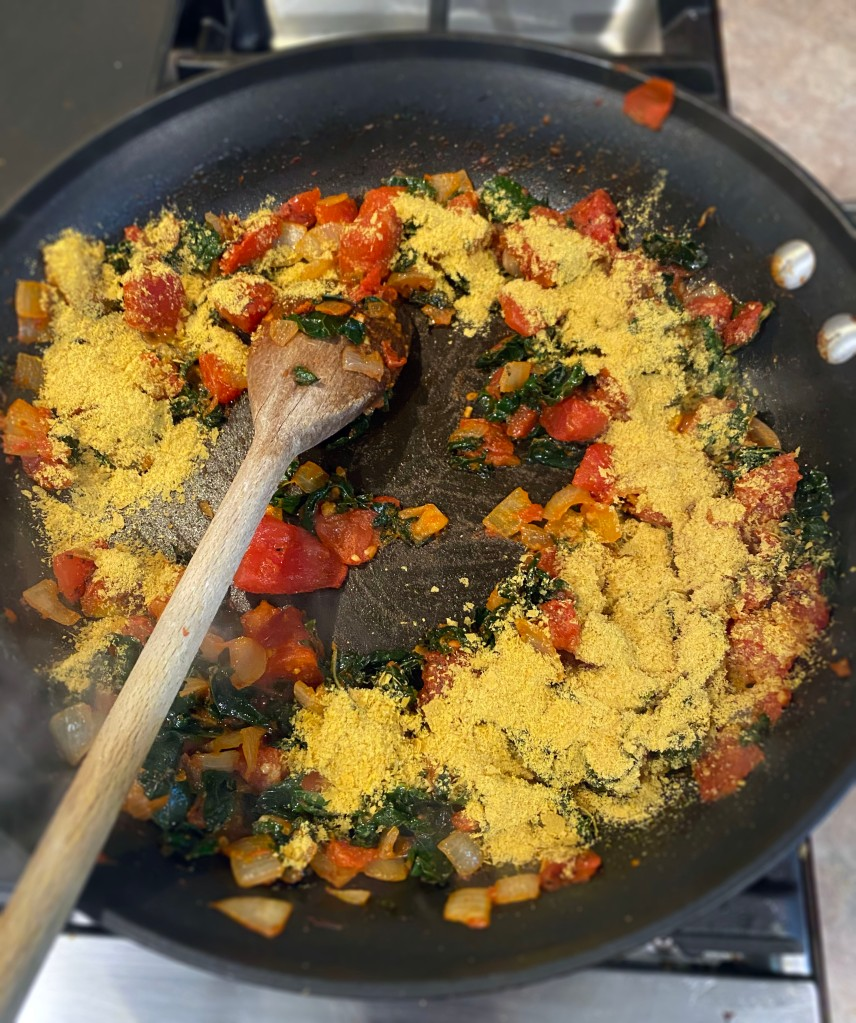 adding nutritional yeast
